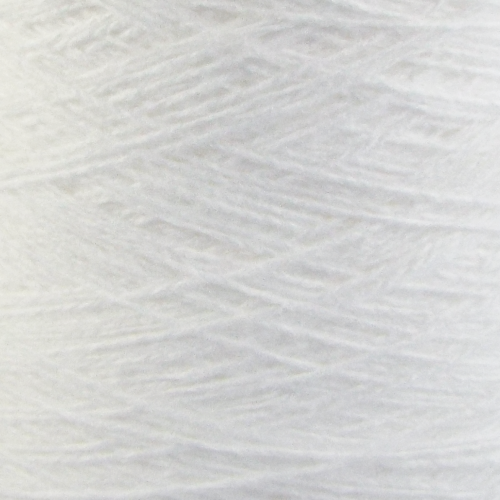 4 ply acrylic 500g cone - white 01