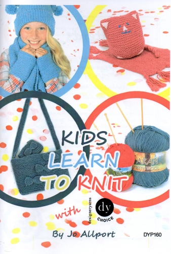Kids Learn to Knit by Jo Allport