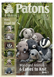 Patons Woodland Animals Book 1